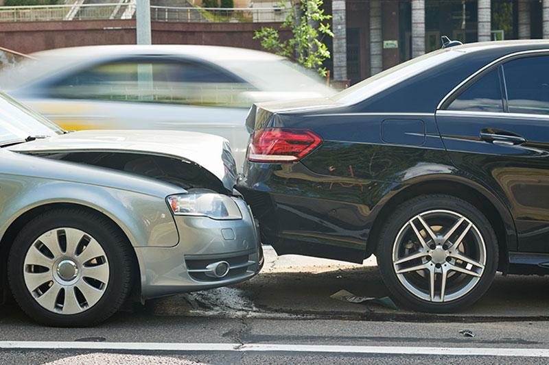 Autounfall-Audi