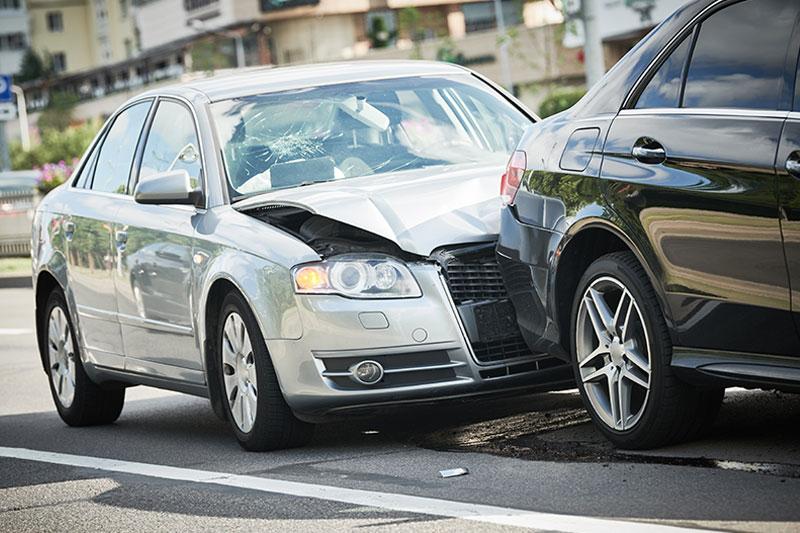 Autounfall-Mercedes