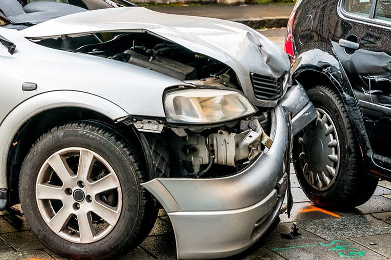 Autounfall-Opel